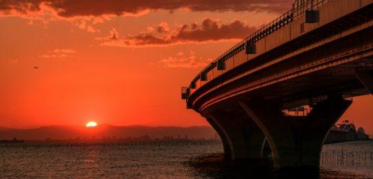 ― アクアラインと夕景が美しい ―