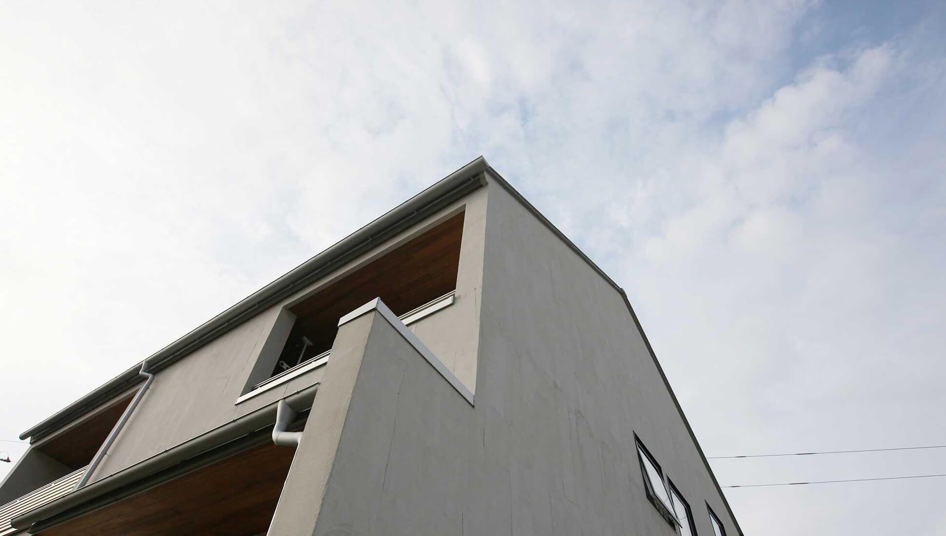 外観:自由設計で叶える 免震ダブル断熱 木更津市