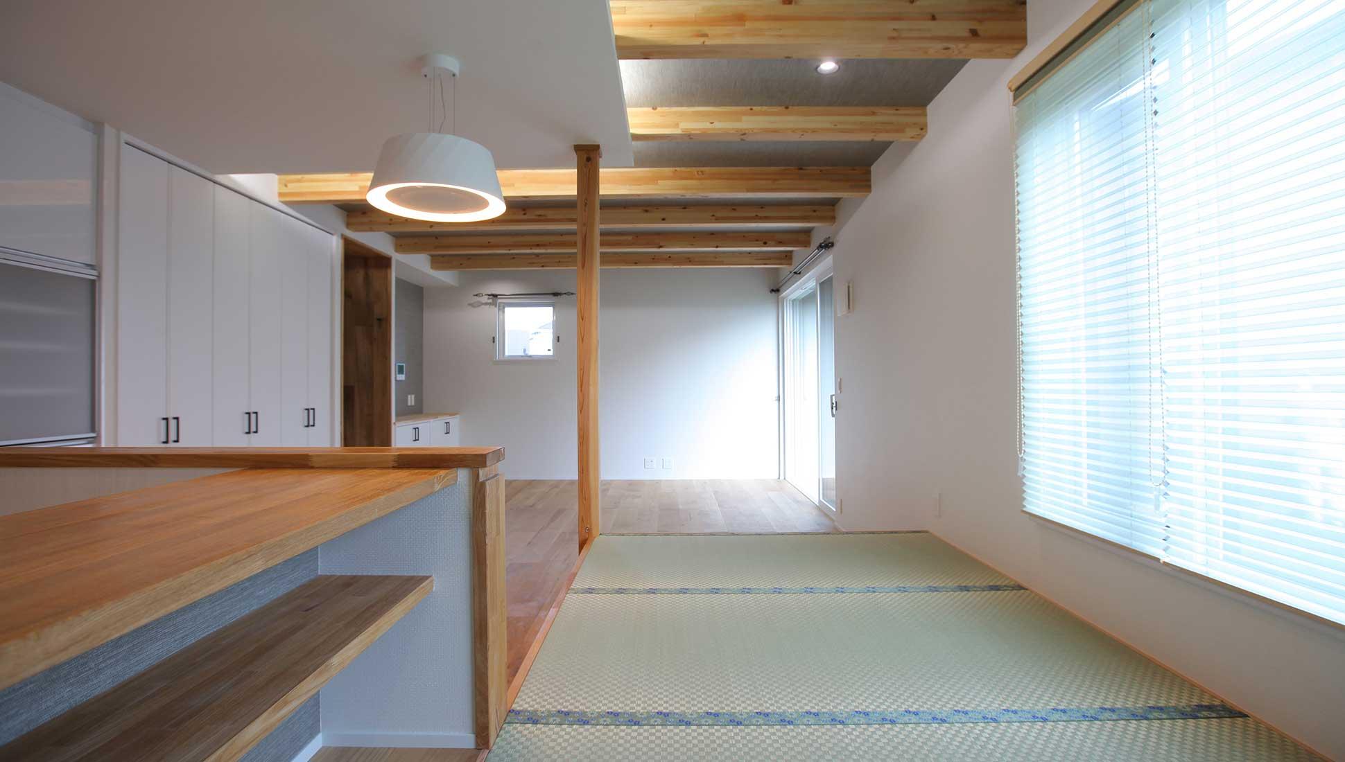 畳の縁も選んだ:自由設計で叶える 免震ダブル断熱 木更津市
