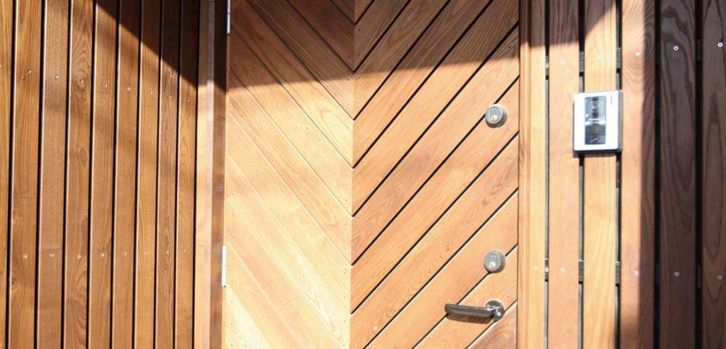 オーダー木製玄関ドア