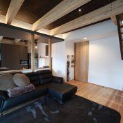 間接照明、リビング:君津市戸建て新築