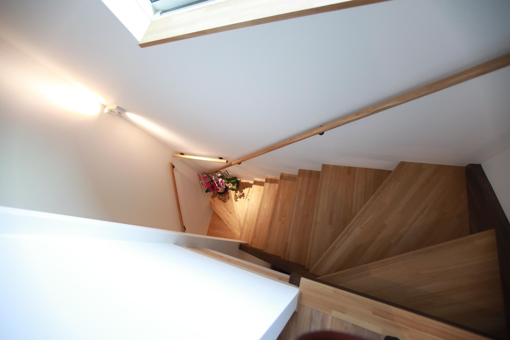 ストリップ階段:君津市戸建て新築