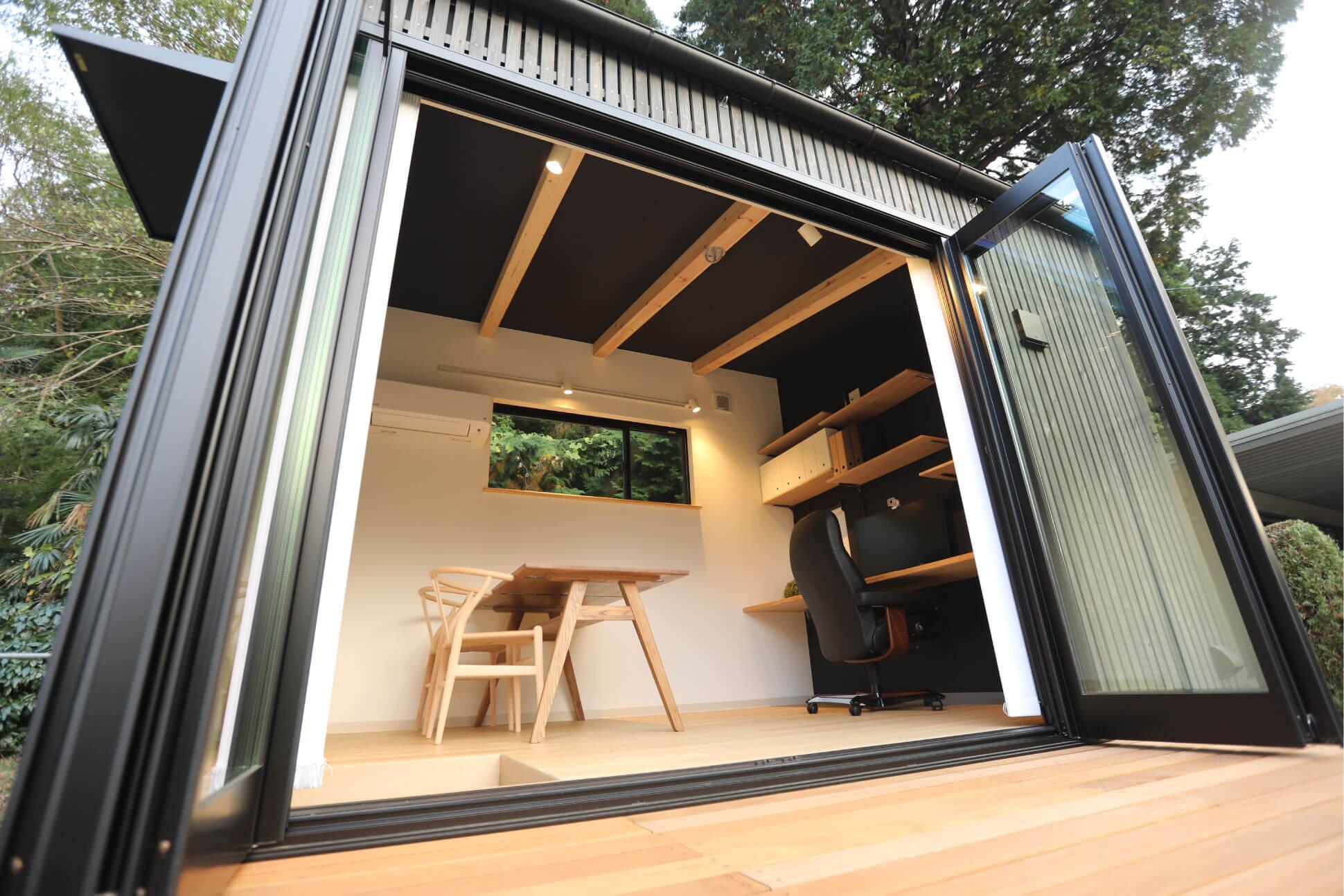 フルオープンな窓がつながりを生む 房総イズム